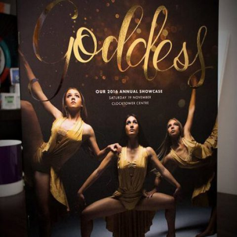 Double-E Design Portfolio - Goddess dance concert program for Instyle Dance Company